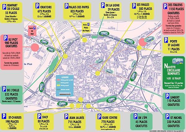 Plan bus avignon - Ligne bus avignon ...